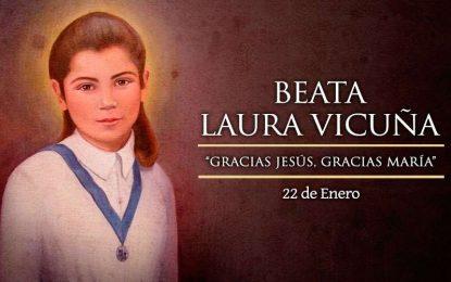 Beata Laura Vicuña, protectora de la dignidad y pureza de la mujer