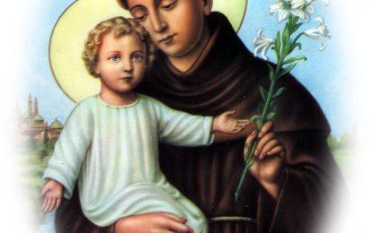 Hoy es fiesta de San Antonio de Padua