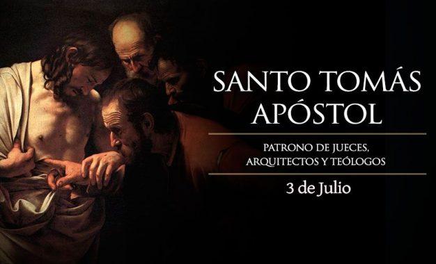 Santo Tomás Apóstol, patrono de jueces, arquitectos y teólogos