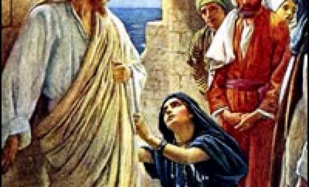 La cananea, la fe que vence a Dios